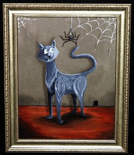Cat & Spider